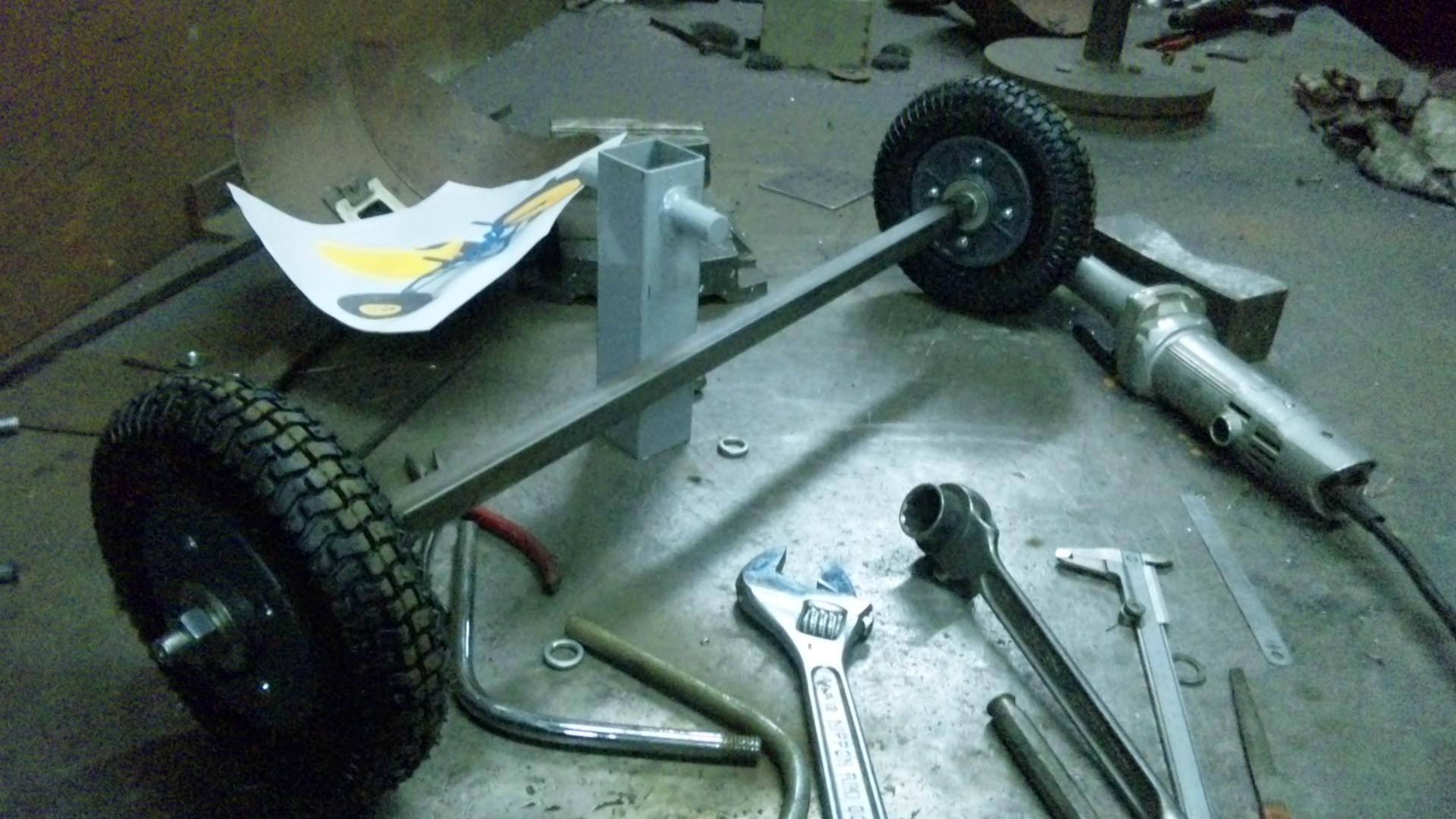 三輪車作り