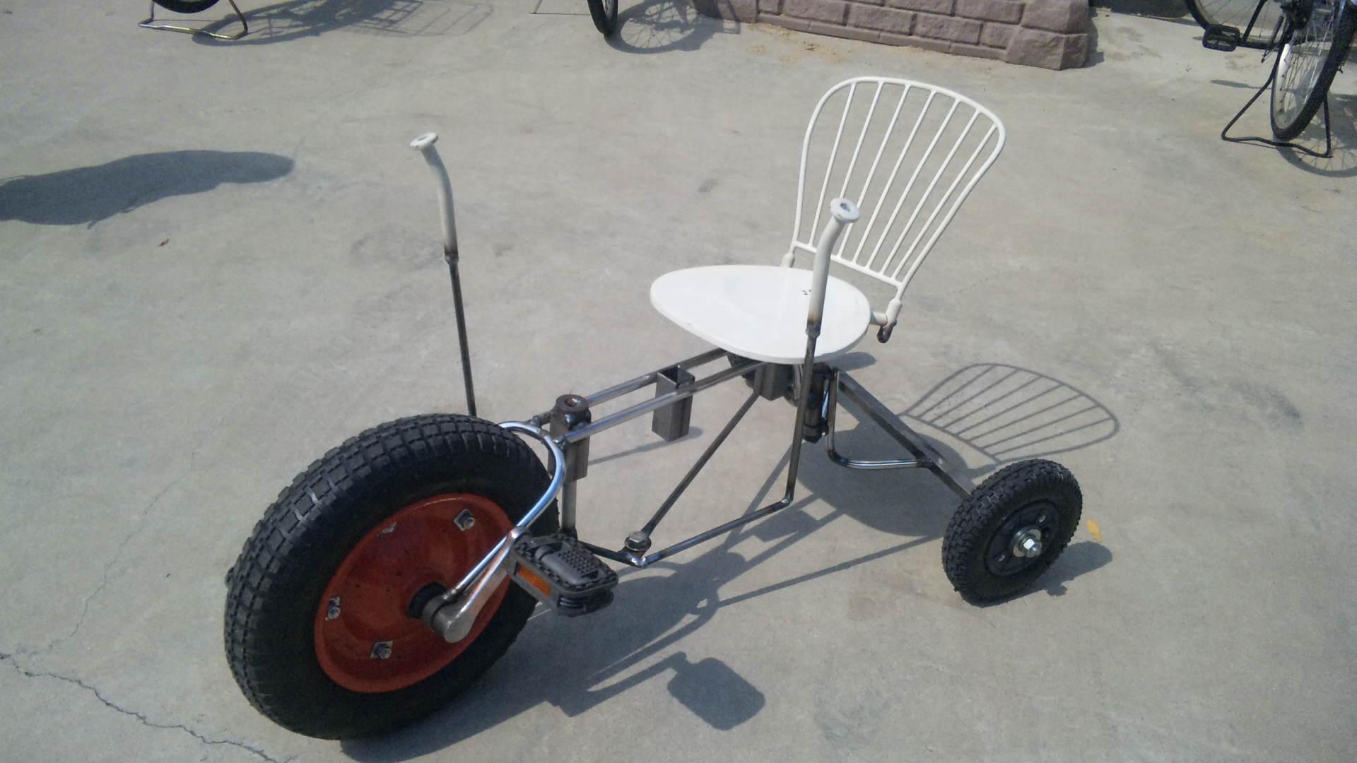 三輪車完成!