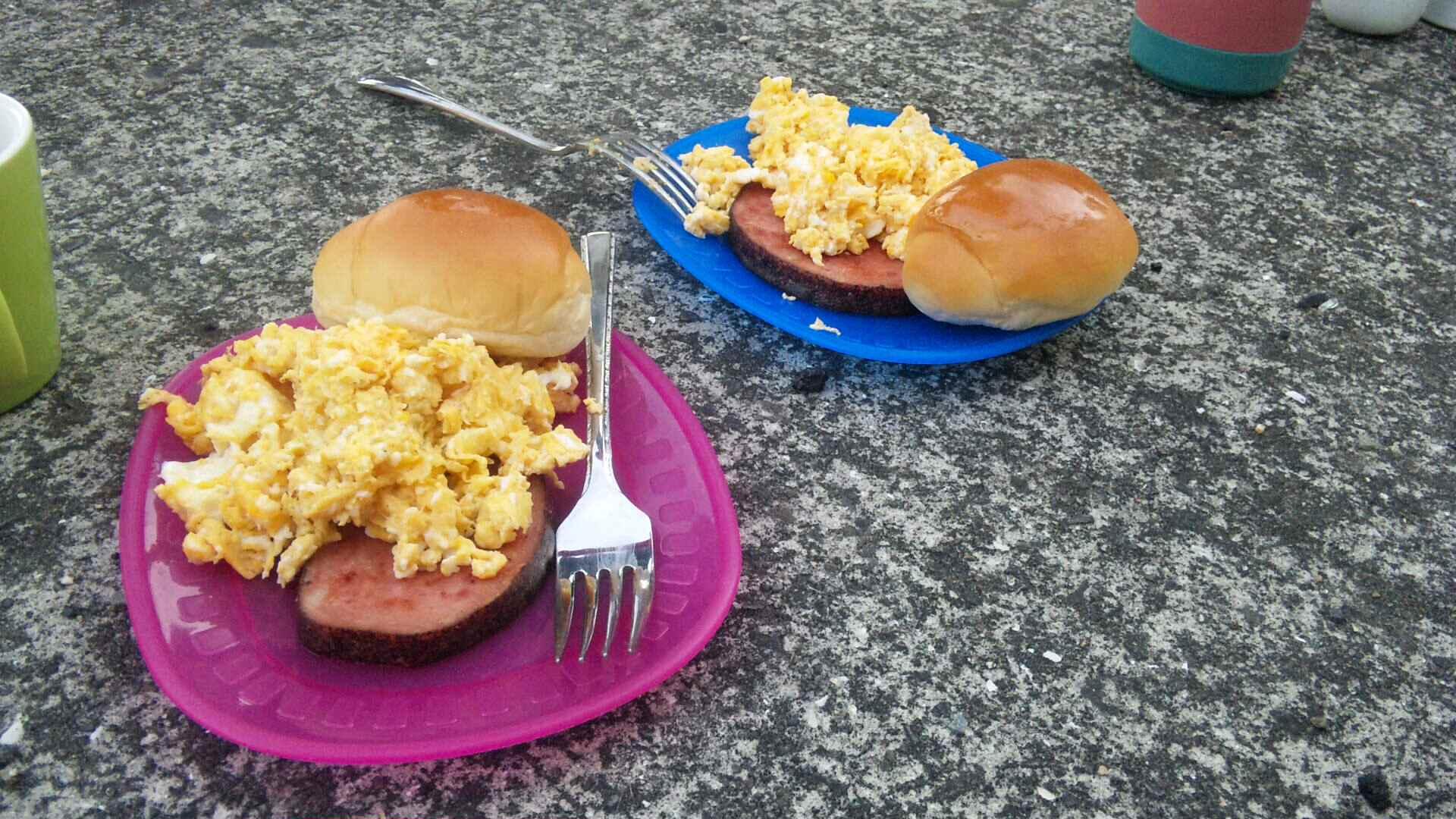 朝食ツーリング